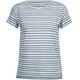 Icebreaker Aria - T-shirt manches courtes Femme - gris/bleu